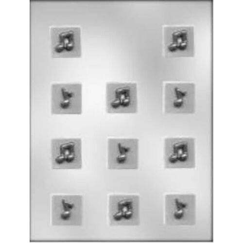 MUSIC NOTE SQUARE MINT Chocolate Mould