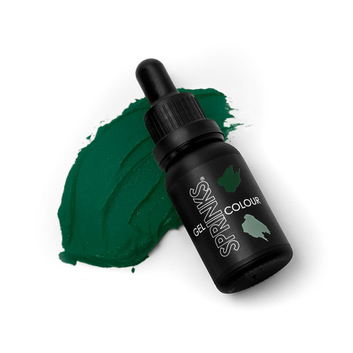 FOREST GREEN Sprinks Gel Colour 15mL