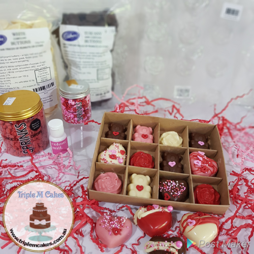 Valentine's Day Chocolate Workshop in a Box
