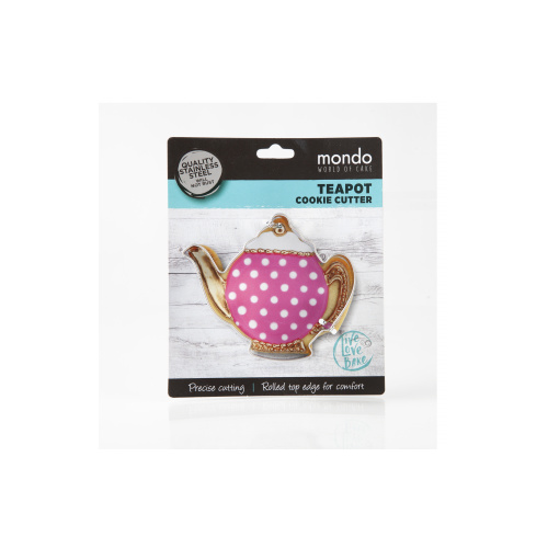 Teapot Star Cookie Cutter