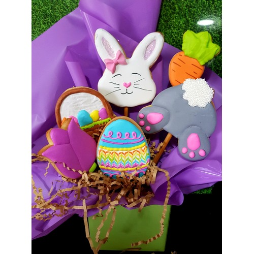 Easter Cookie Bouquet Workshop Saturday 4th April 2020